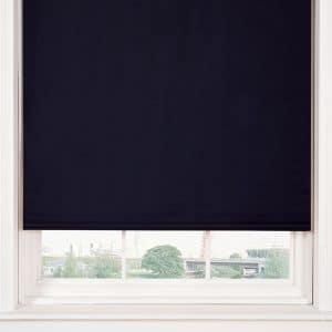 Blackout Roller Blind in Black