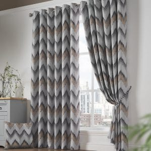 Oslo 95% Blackout Eyelet Curtain