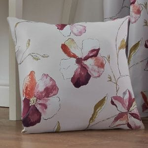 Ascot Patterned Square Cushion Cover