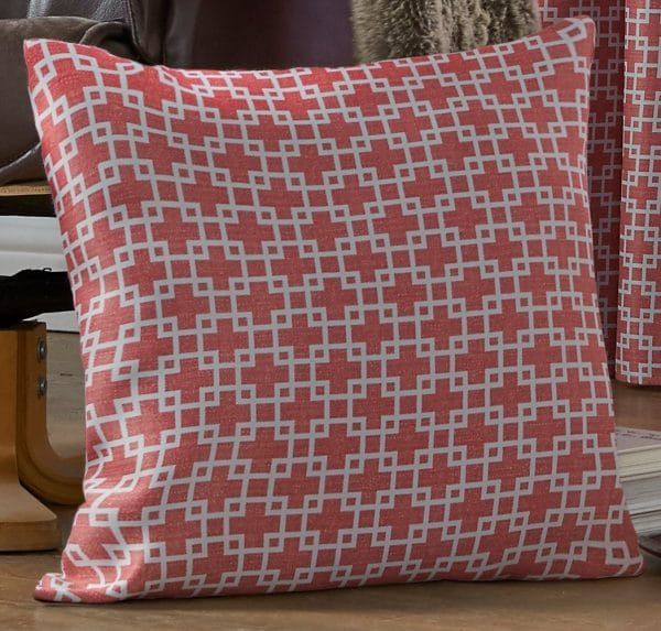 Casablanca Patterned Square Cushion Cover