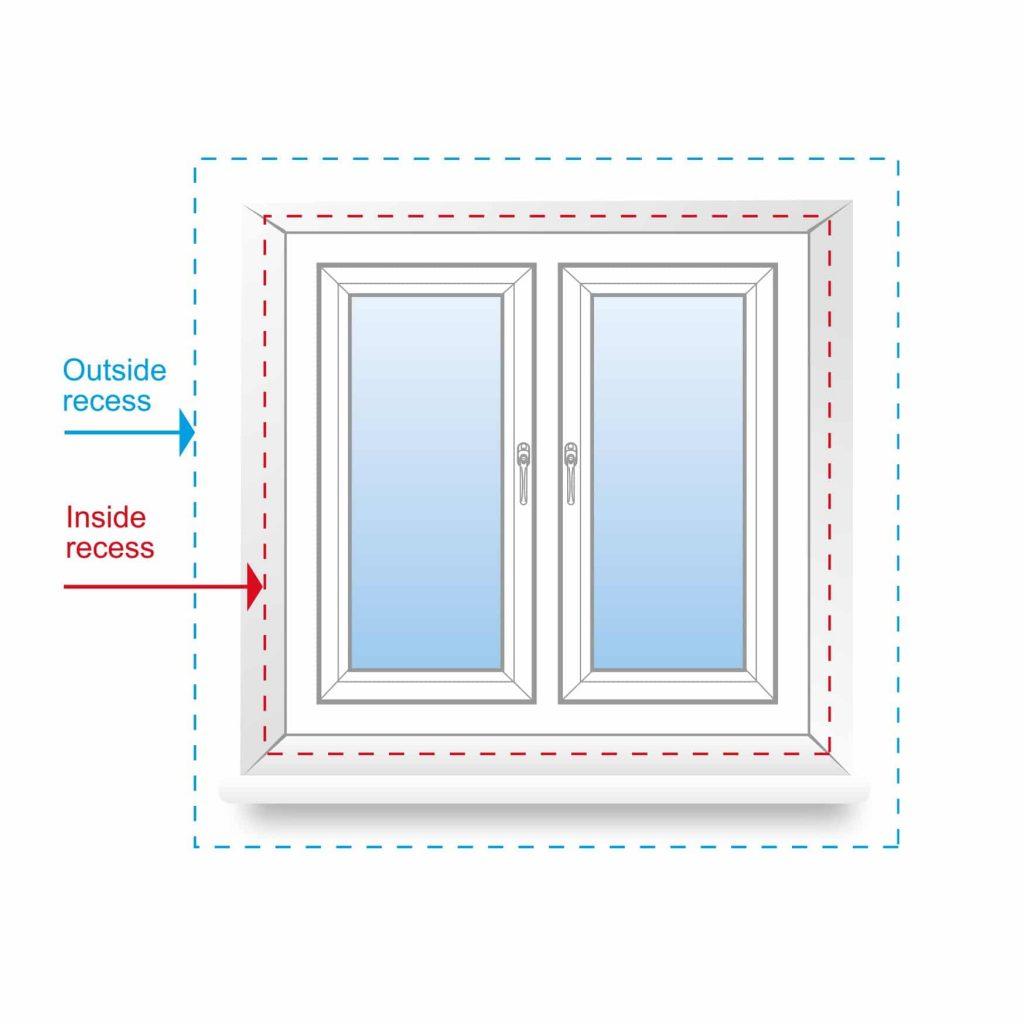 Inside Window Recess vs Outside Window Recess